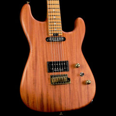 Charvel Custom Shop Cooked Mahogany San Dimas Electric Guitar Natural Oil