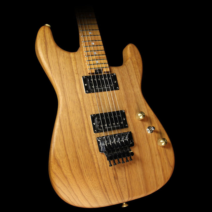 Charvel Custom Shop Cooked Ash San Dimas Electric Guitar Natural Oil C10540