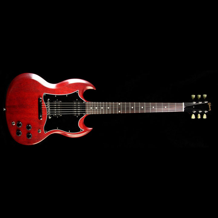 Used 2017 Gibson SG Faded T Electric Guitar Worn Cherry SGF17WCNH2