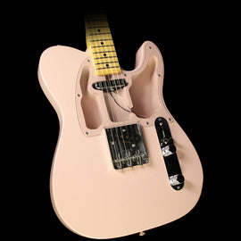 Fender Custom Shop Limited Edition 1967 Smuggler's Tele Closet Classic Electric Guitar Faded Shell Pink