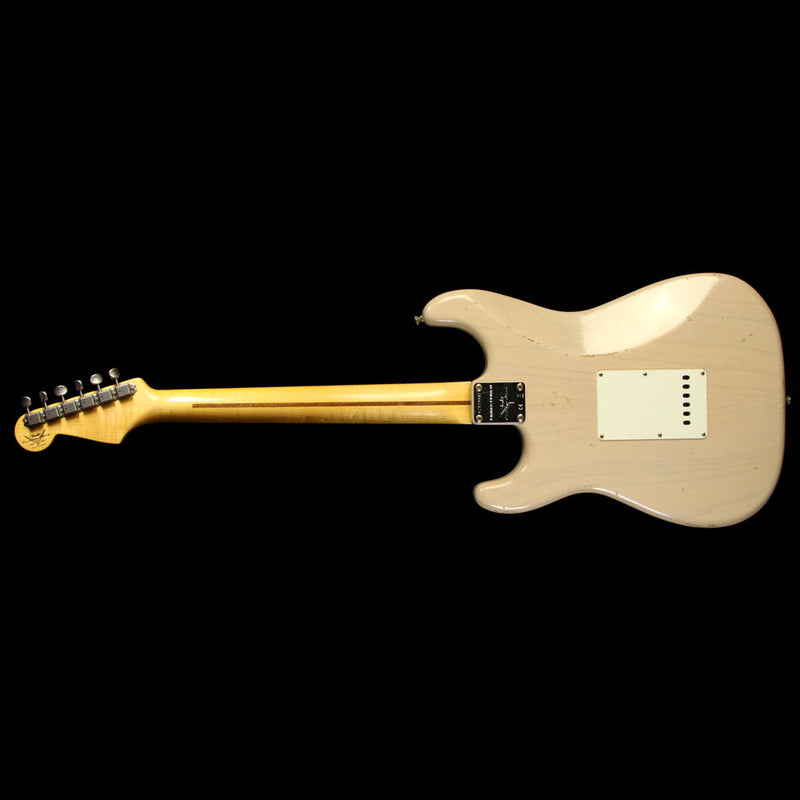 Fender Custom 2017 NAMM Limited Dual Mag Stratocaster Relic Guitar Dirty White Blonde CZ529347