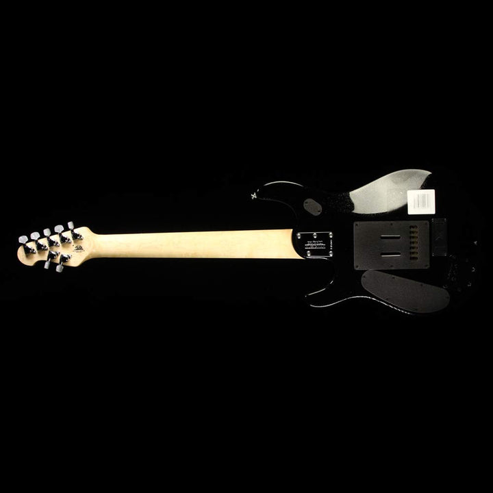 Used Ernie Ball Music Man JP7 Petrucci 7-String Electric Guitar One-Off Black Sparkle F45803