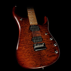 Ernie Ball Music Man John Petrucci JP15 Electric Guitar Quilt Top Sahara Burst
