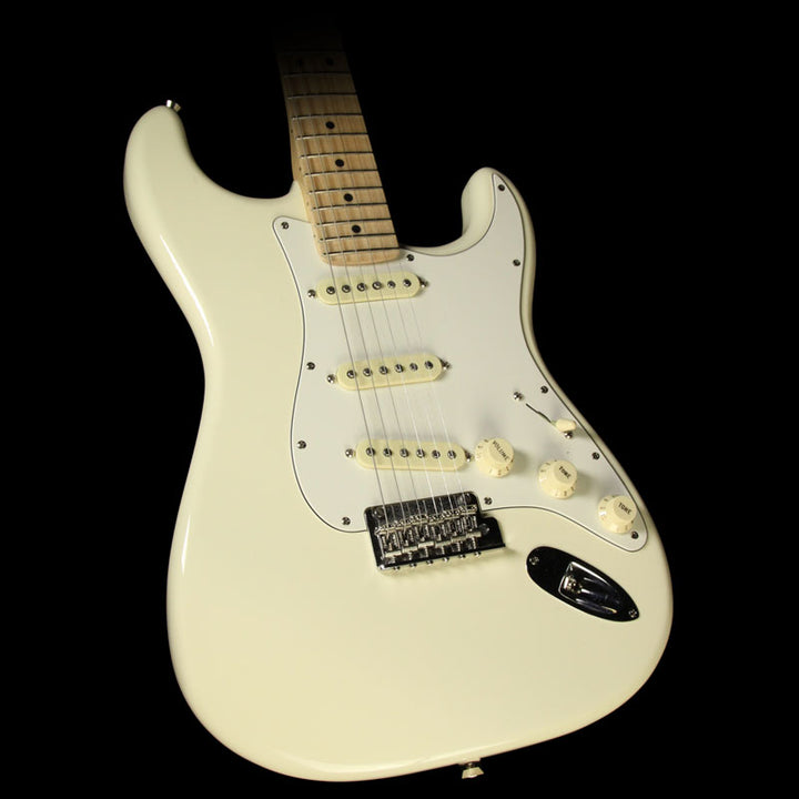 Used 2016 Fender American Pro Stratocaster Electric Guitar Olympic White US16086884