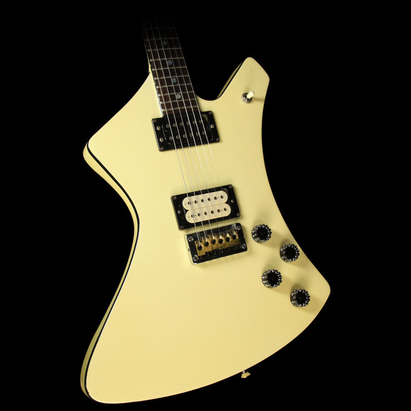 Used 1980's Washburn A-10 Electric Guitar Ivory 811422