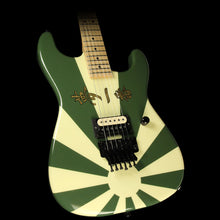 Used 2010 Charvel Custom Shop San Dimas Electric Guitar Rising Sun Green with Gold Leaf Letters