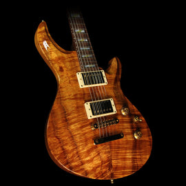 ESP Custom Shop Limited Edition Amorous Mystique Electric Guitar Natural Flame Koa