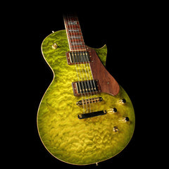 ESP USA Custom Shop Limited Edition Eclipse Electric Guitar Olive Sunburst