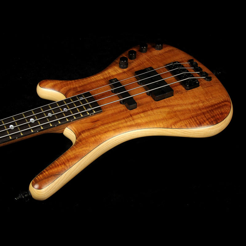 Used 2004 Warwick FNA Jazzman Limited Edition Electric Bass Guitar Natural Apr-60