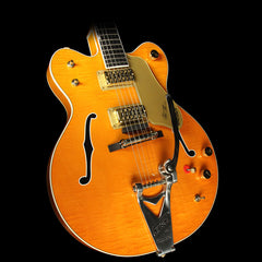 Used 2012 Gretsch G6120DC Chet Atkins Double Cutaway Electric Guitar Orange