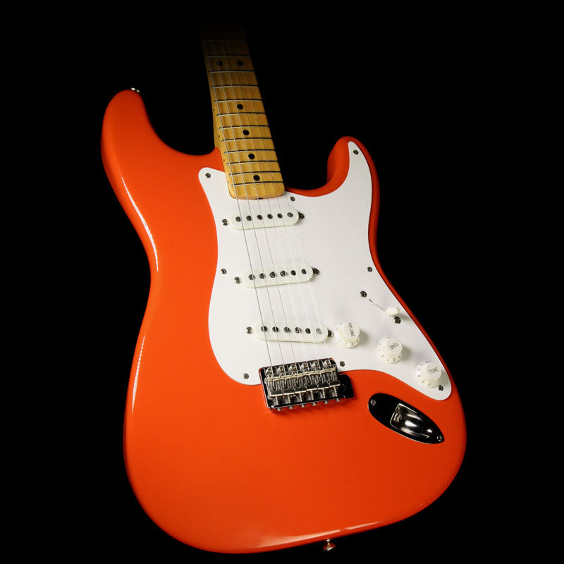 Used 1988 Fender American Vintage '57 Stratocaster Electric Guitar Fiesta Red