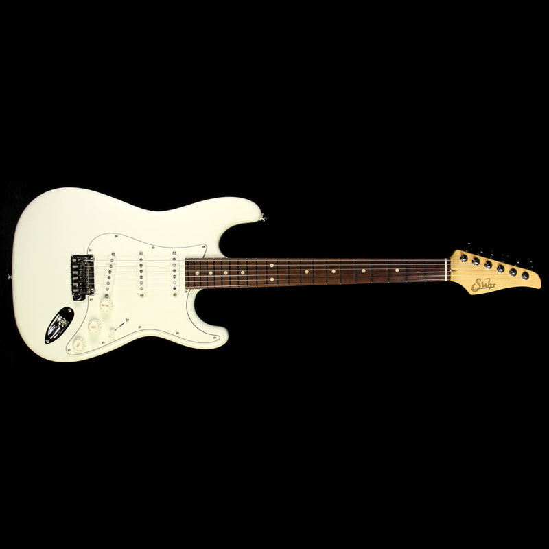 Used 2016 Suhr Limited Edition Classic Pro Electric Guitar Olympic White JST8R5J