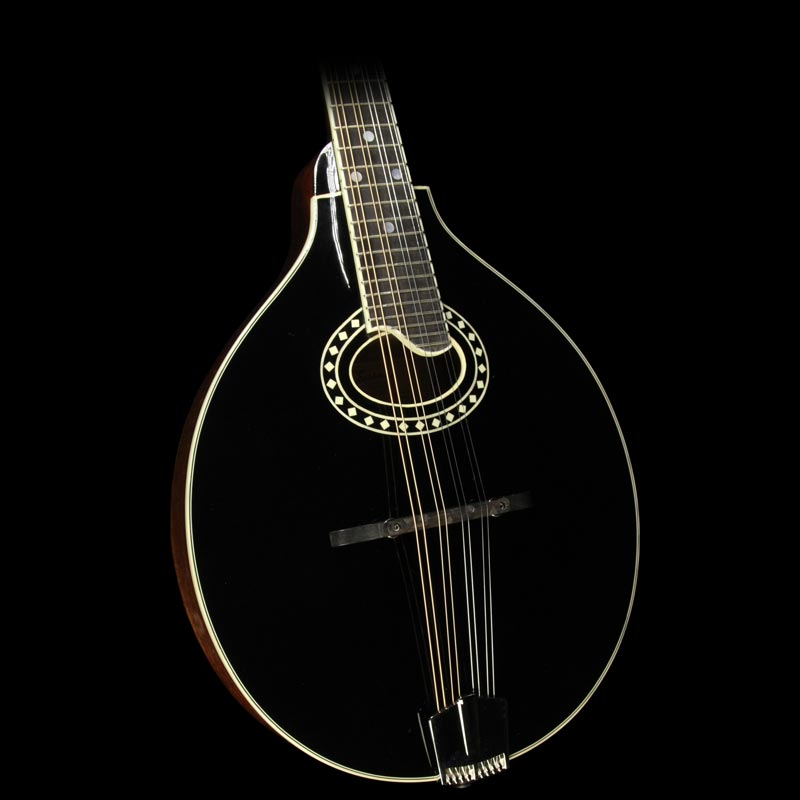 Used Eastman MD404-BK A-Style Mandolin Black MD404