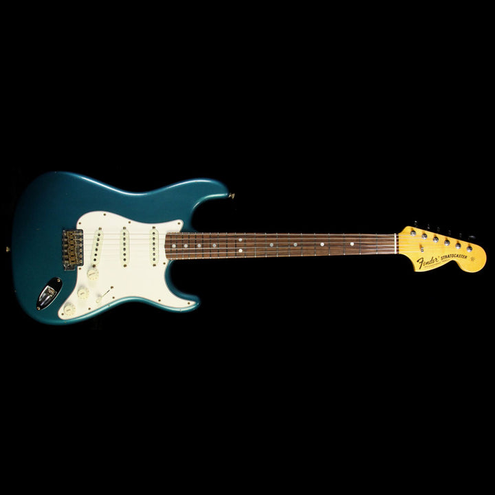Used 2017 Fender Custom Shop Time Machine Series '69 Stratocaster Journeyman Relic Electric Guitar Aged Ocean Turquoise CZ531684