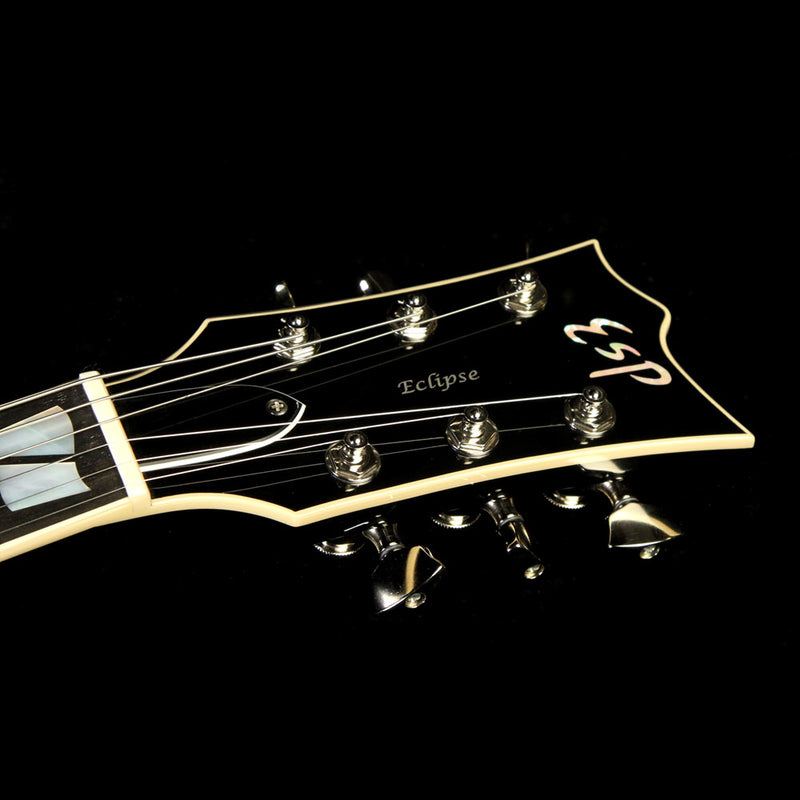 Used 2017 ESP USA Eclipse Electric Guitar Sapphire Black Metallic US17011
