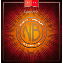 D'Addario Nickel Bronze Mandolin Strings Medium 11-40