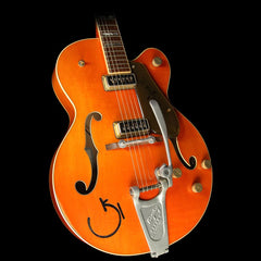 Used 2006 Gretsch Custom Shop Masterbuilt Stephen Stern G6120 Chet Atkins Electric Guitar Relic Orange