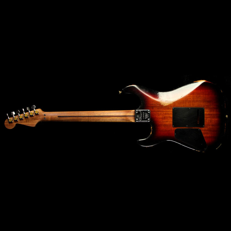 Charvel Custom Shop Music Zoo Nitro Aged Koa San Dimas Electric Guitar 3-Tone Sunburst C10525