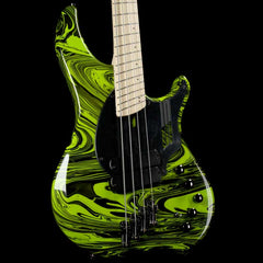 Dingwall NG2 Adam Nolly Getgood Fan Fret Ferrari Green Swirl