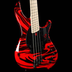 Dingwall NG2 Adam Nolly Getgood Fan Fret 4-String Bass Ferrari Red Swirl Gloss