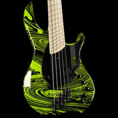 Dingwall NG2 Adam Nolly Getgood Fan Fret 5-String Bass Ferrari Green Swirl