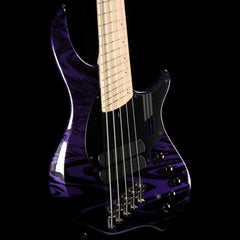 Dingwall NG2 Adam Nolly Getgood Signature Fan Fret 5-String Bass Purple Metallic Swirl
