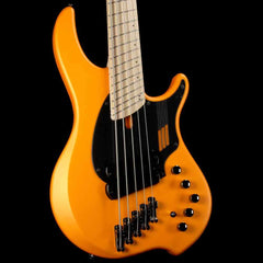 Dingwall NG2 Adam Nolly Getgood Signature Fan Fret 5-String Bass Lamborghini Matte Orange