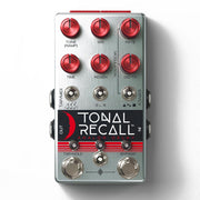 Chase Bliss Tonal Recall Red Knob Mod Analog Delay Effect Pedal
