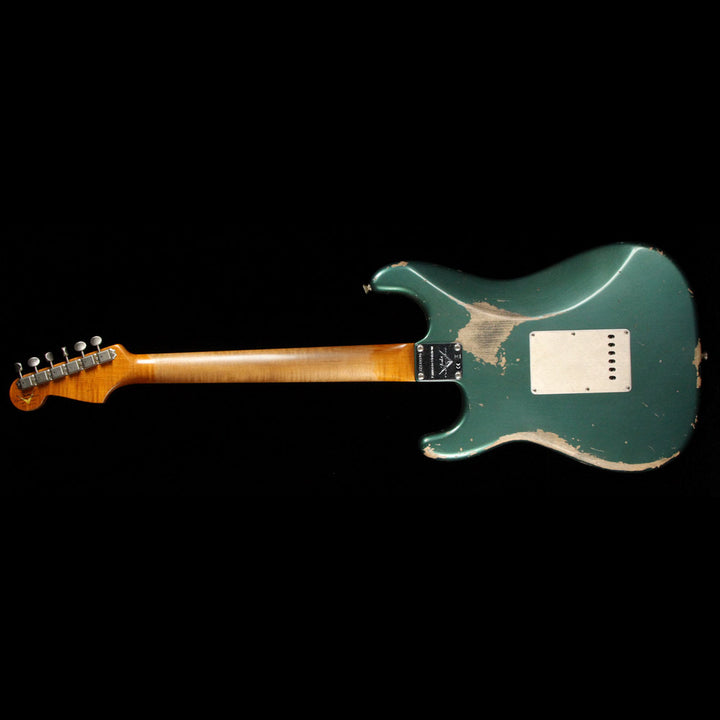 Fender Custom Shop 1959 Stratocaster Limited Sherwood Green Metallic Heavy Relic CZ533596