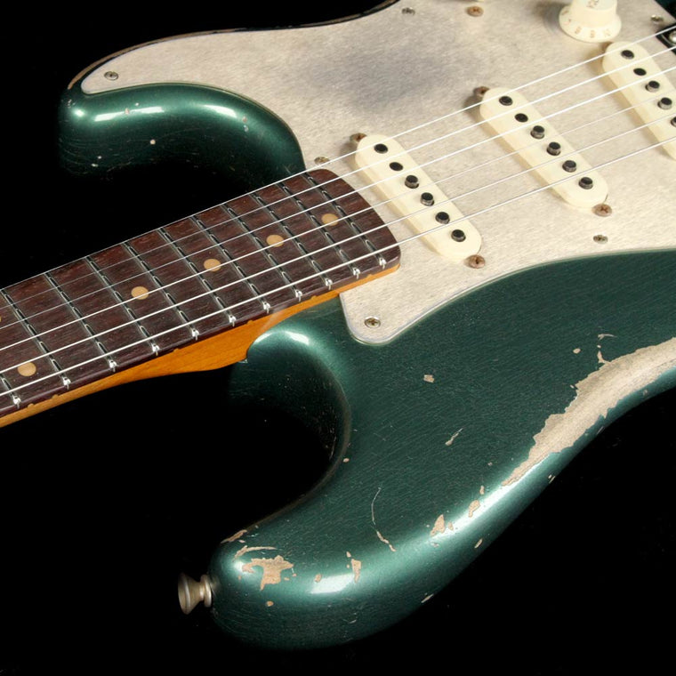Fender Custom Shop 1959 Stratocaster Limited Sherwood Green Metallic Heavy Relic