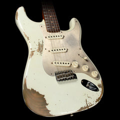 Fender Custom Shop Limited Edition '59 Stratocaster Electric Guitar Aged Olympic White
