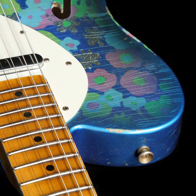 Fender Custom Shop 50's Thinline Telecaster Limited Blue Paisley Relic R17472