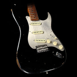 Fender Custom Shop '56 Fat Roasted Stratocaster LTD Journeyman Relic Electric Guitar Aged Black