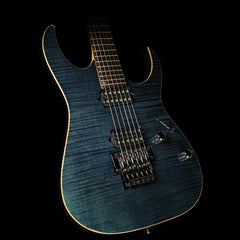 Used 1998 Ibanez RG3120 Prestige Electric Guitar Twilight Blue