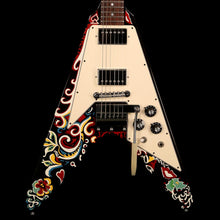 Gibson Custom Shop Jimi Hendrix Psychedelic Hand Painted Flying V 2006