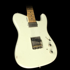Used 2014 Tausch 665 Raw Electric Guitar Vintage White Relic