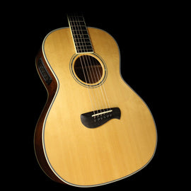 Used Tacoma PM28 Parlor Acoustic/Electric Guitar Natural