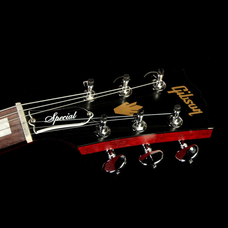 used 2017 gibson sg special zebra electric guitar satin cherry the music zoo. Black Bedroom Furniture Sets. Home Design Ideas