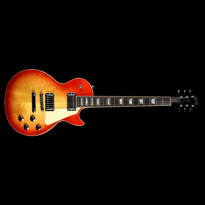 Used 2017 Gibson Les Paul Classic HP Electric Guitar Heritage Cherry Sunburst 170047043