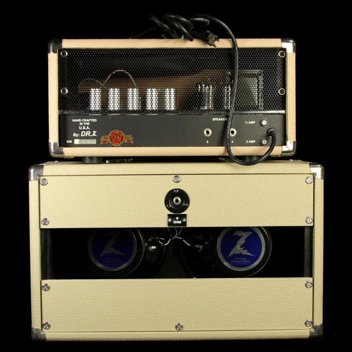 Used Dr. Z Max 18 Electric Guitar Amplifier Head & 2x10 Cabinet 8851