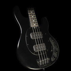 Used 2016 Ernie Ball Music Man StingRay HH Electric Bass Stealth Black