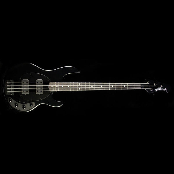 used 2016 ernie ball music man stingray hh electric bass stealth black the music zoo. Black Bedroom Furniture Sets. Home Design Ideas