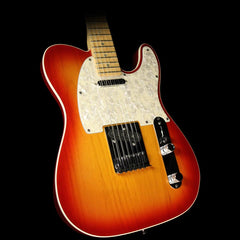 Used 2006 Fender American Deluxe Telecaster Electric Guitar Sienna Sunburst