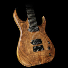 Skervesen Raptor 7 Electric Guitar Natural Walnut
