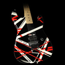 Used 2007 Charvel EVH Owned and Signed Art Series Electric Guitar Red, Black & White