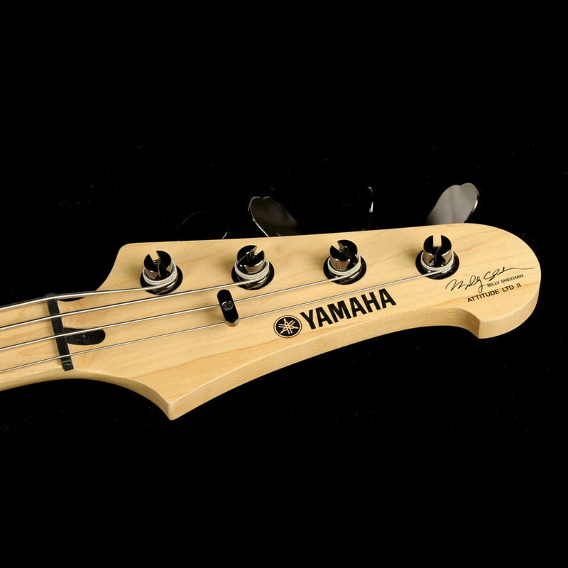 Used Yamaha Attitude II Billy Sheehan Signature Electric Bass Guitar Lava Red