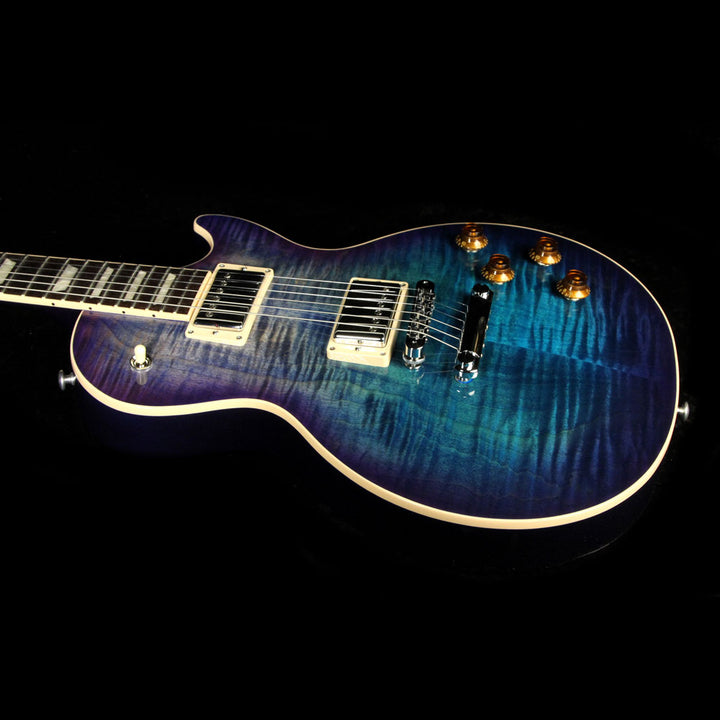 Used 2017 Gibson Les Paul Standard T Electric Guitar Blueberry Burst 170102180