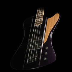 Dingwall D-Bird Fan Fret 4-String Electric Bass Guitar Candy Purple