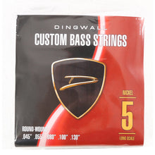 Dingwall 5-String Long Scale Electric Bass Guitar Strings