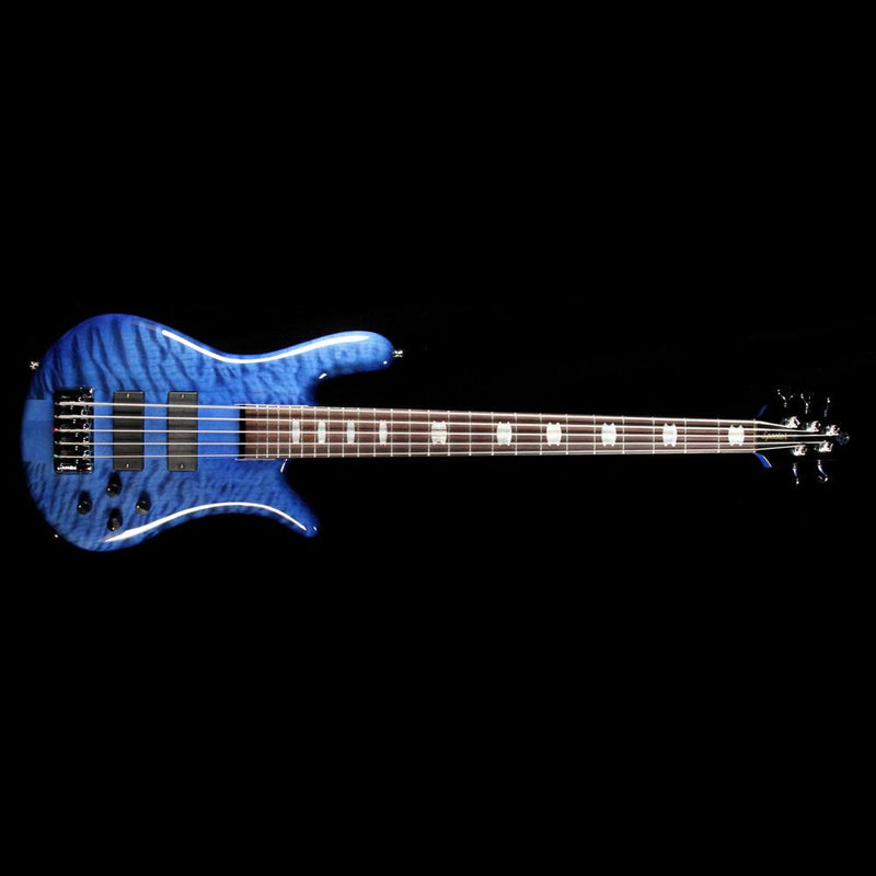 Spector Euro5 LX Electric Bass Guitar Blue Stain Gloss 4731